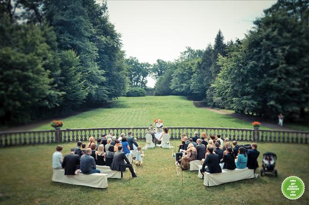 Hochzeitsbilder auf Schloss Bellin