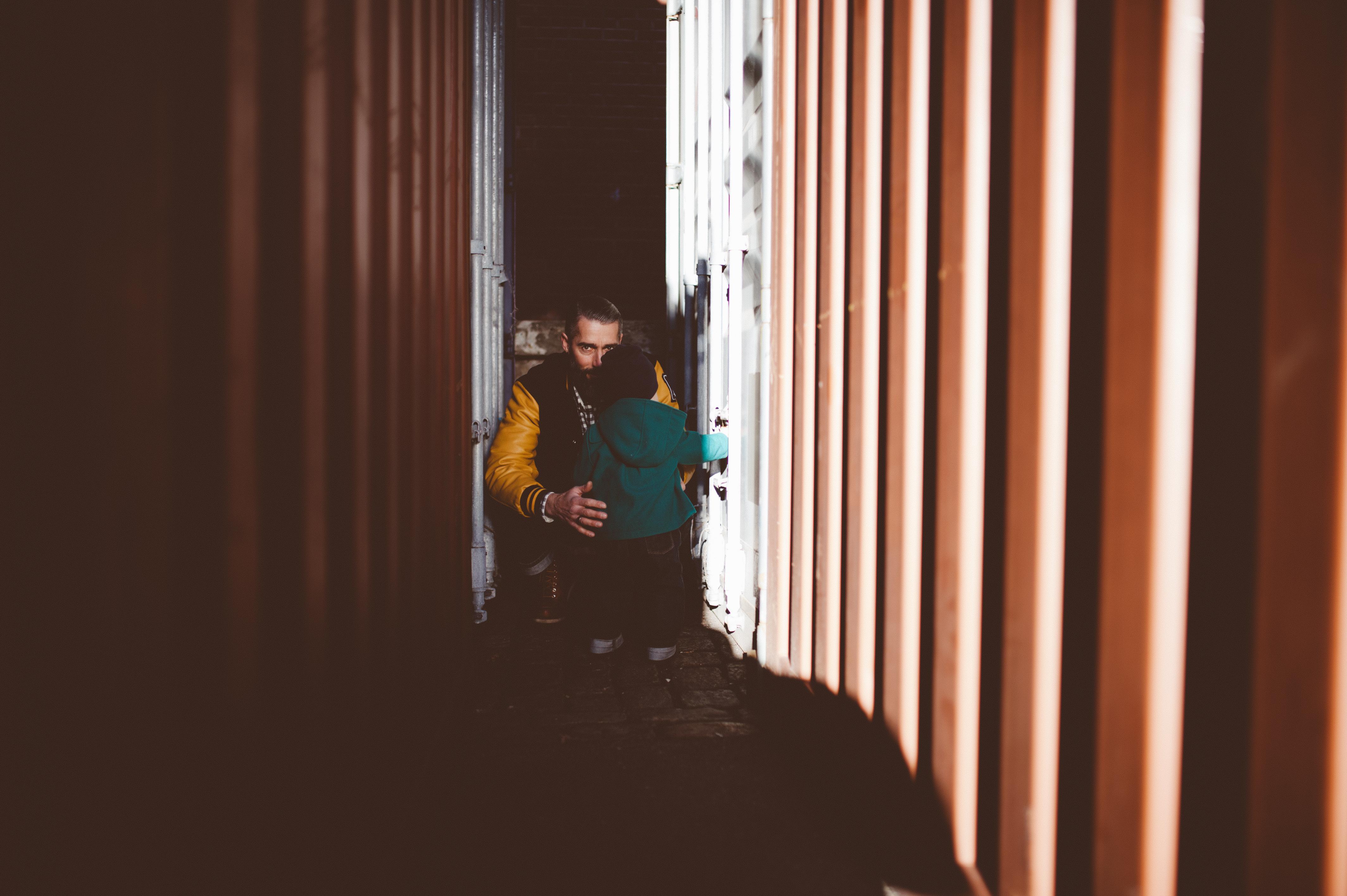 Familienfotos im Hamburger Hafen