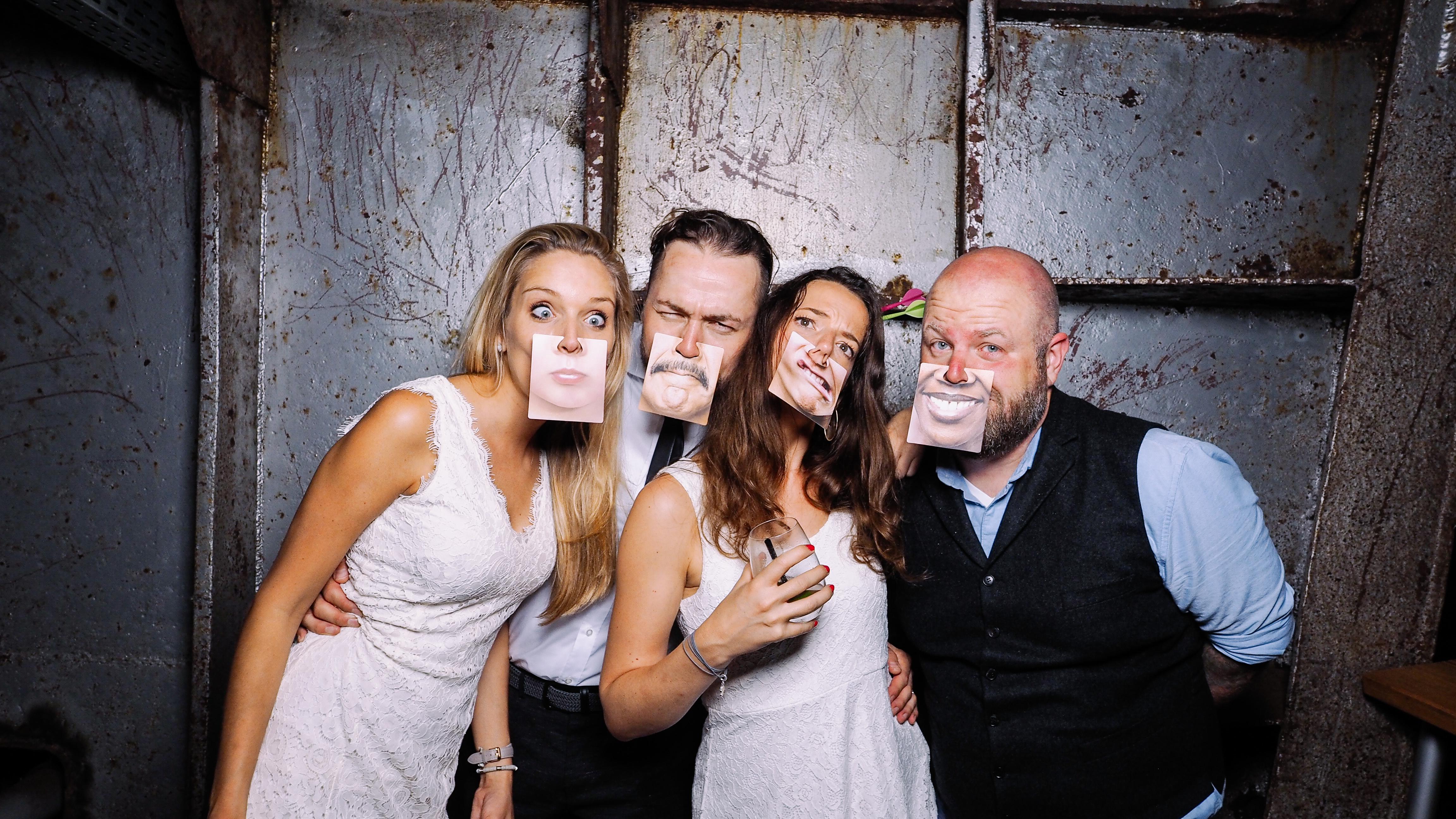 Photo Booth zur Hochzeit auf der MS Bleichen