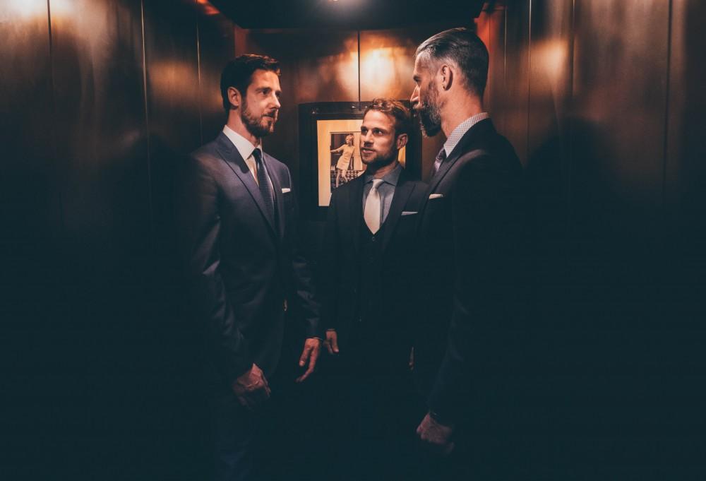 Anzug Hochzeit Fotograf