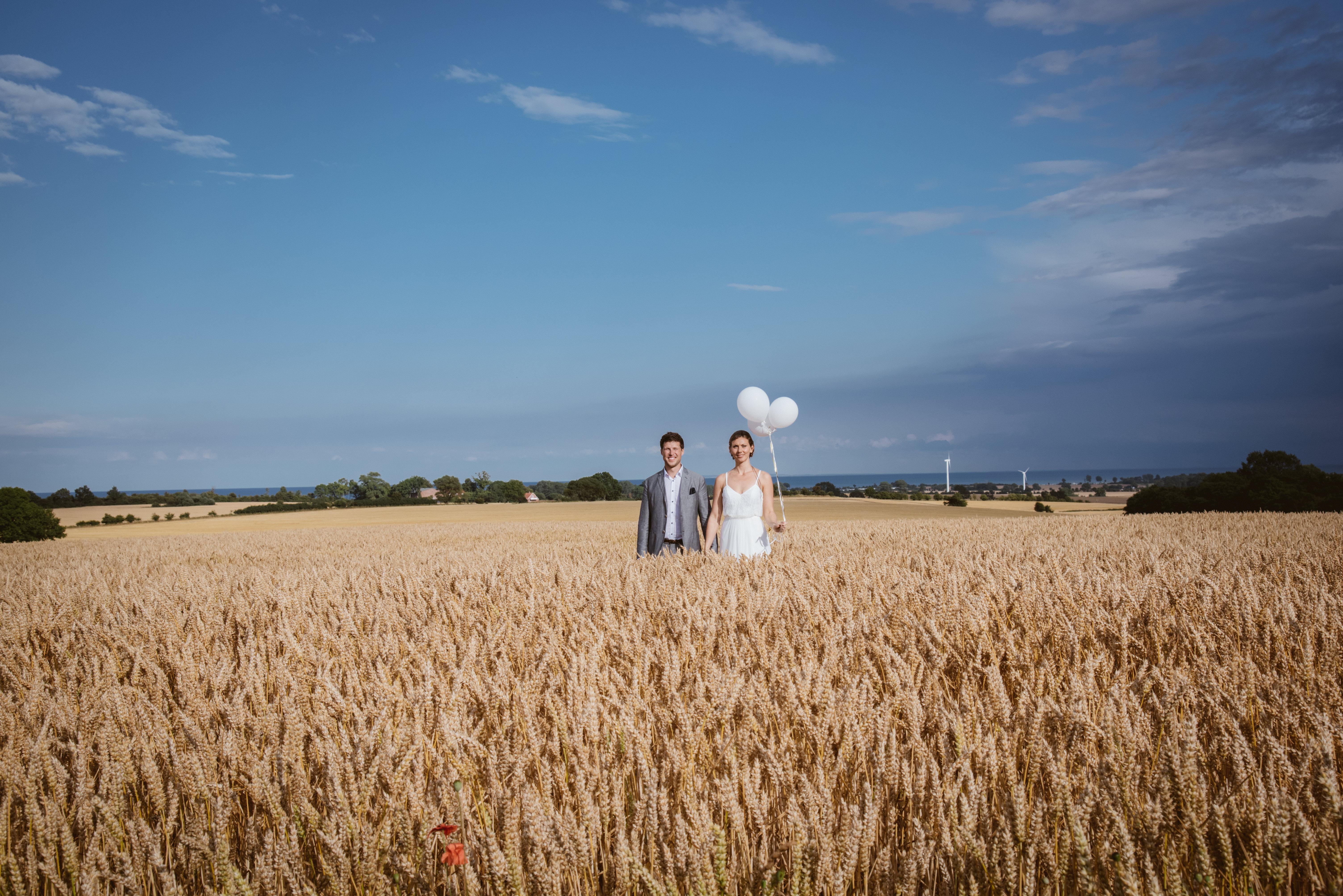 Ein Hochzeitsfotograf an der Ostsee