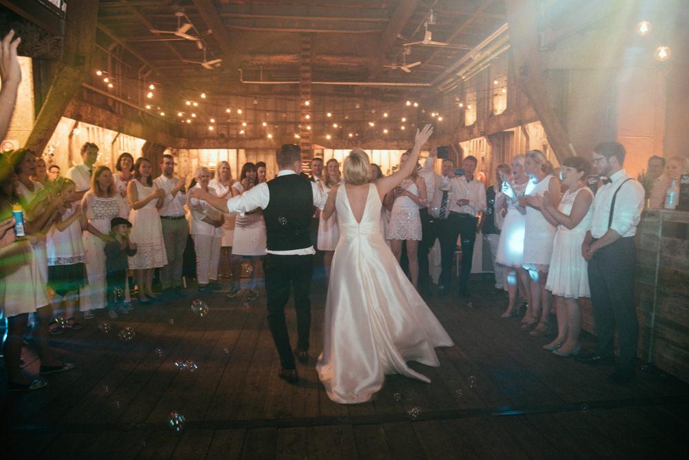 Hochzeit auf der MS Bleichen